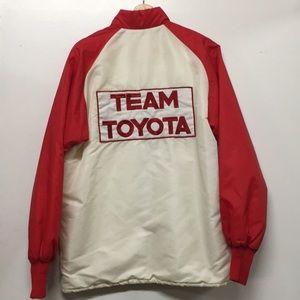Vintage Toyota Racing Jacket